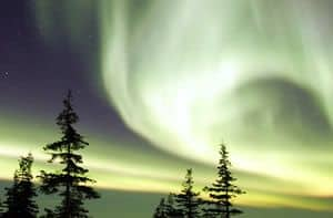 Watching Northern Lights - Aurora Borealis
