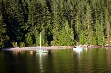 Knight Inlet - Marine Route Vancouver Island