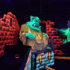 Monster Mini Golf Calgary for Kids