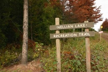 Nellian Lake Trail - Old North Rd. Trail