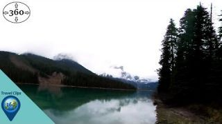 Reflection on Emerald Lake