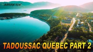 Tadoussac Quebec PART 2 Meeting some Wolves and Whale watching on the St Lawrence