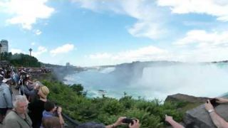 This Is Me at Niagara Falls 4k 360 video for viewing in Virtual Reality Devices