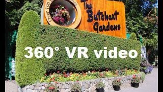 The Butchart Gardens in 4k 360 video for viewing in Virtual Reality by This Is Me In VR
