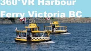 Victoria Harbour Ferry Taxi Ride in 4k 360 video for viewing in VR by This Is Me In VR