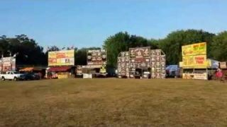 Brantford Kinsmen Ribfest Set-up 2016