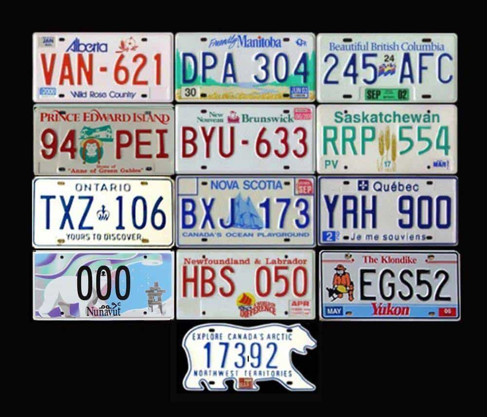 liscence plates