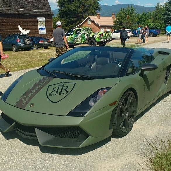 Royal Rally Lamborghini