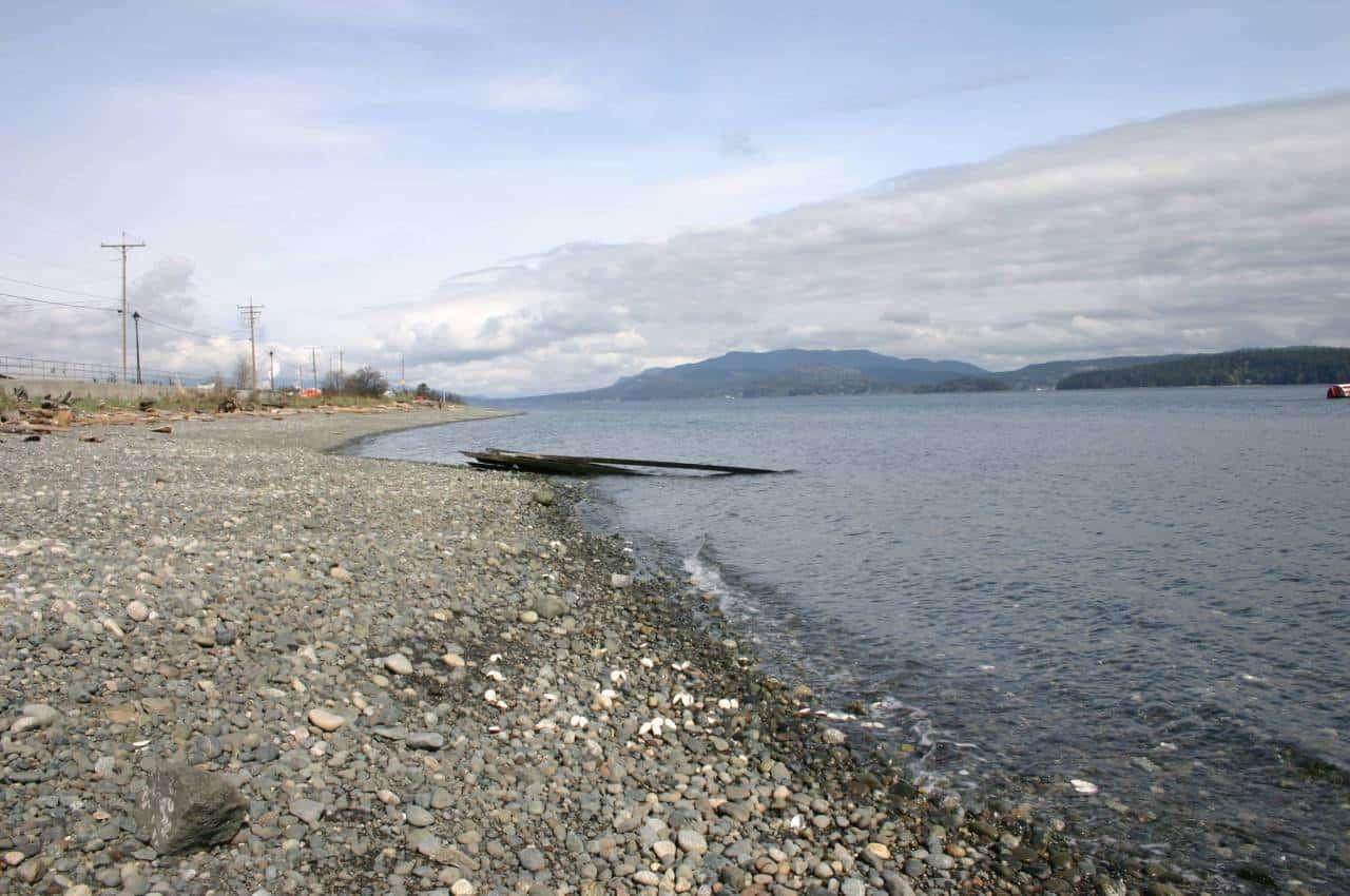 oceanfront of campsite 003
