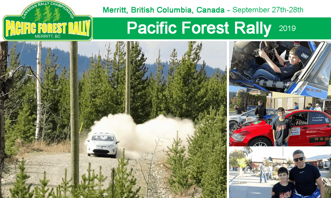 pacifin forest rally