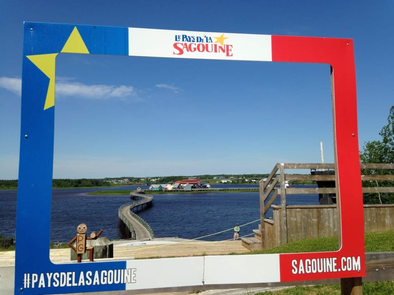 583441f384e1472ac458ee58.jpg - Le Pays de la Sagouine, NB -  Across Canada in search of #BIGselfies trip 2014<br />I heartily recommend a stop here if you are passing, I didn't know the book it is based on but it was still lots of fun and I came away with a copy to read, bit of a backwards way of doing things but ordinary is boring ;-)