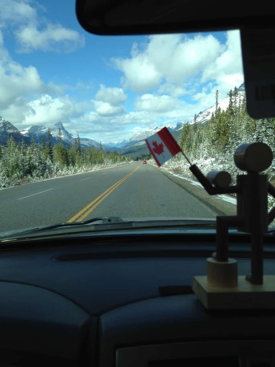 e99c46467dca78cb08f2a099.jpg - Jasper parkway, AB - Calgary road trip fall 2014<br />Pride of place