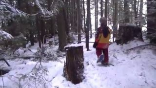 December Snowshoe at Larch Hills 2015