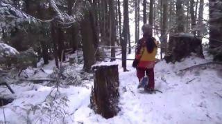 December Snowshoe at Larch Hills 2015
