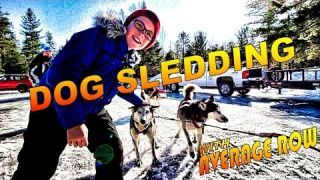 Today I'm Dog Sledding through the Canadian Wilderness and I'm going to bring you guys along