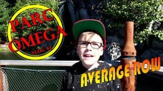 Parc Omega Montebello Quebec learn about animals, feed the animals | Average Row Vlog 43