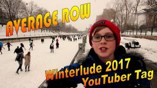 Today I am at Winterlude 2017 in Ottawa Canada doing the Average Row YouTuber Tag
