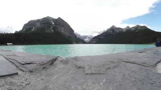 This Is Me at Lake Louise alberta in 4k 360 video for viewing in Virtual Reality Devices