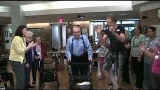 Nursing Home Happy Dance - Edmonton, Canada