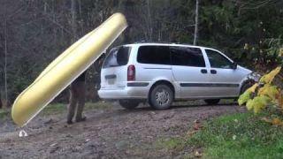 Hidden Lake Family Canoe Adventure