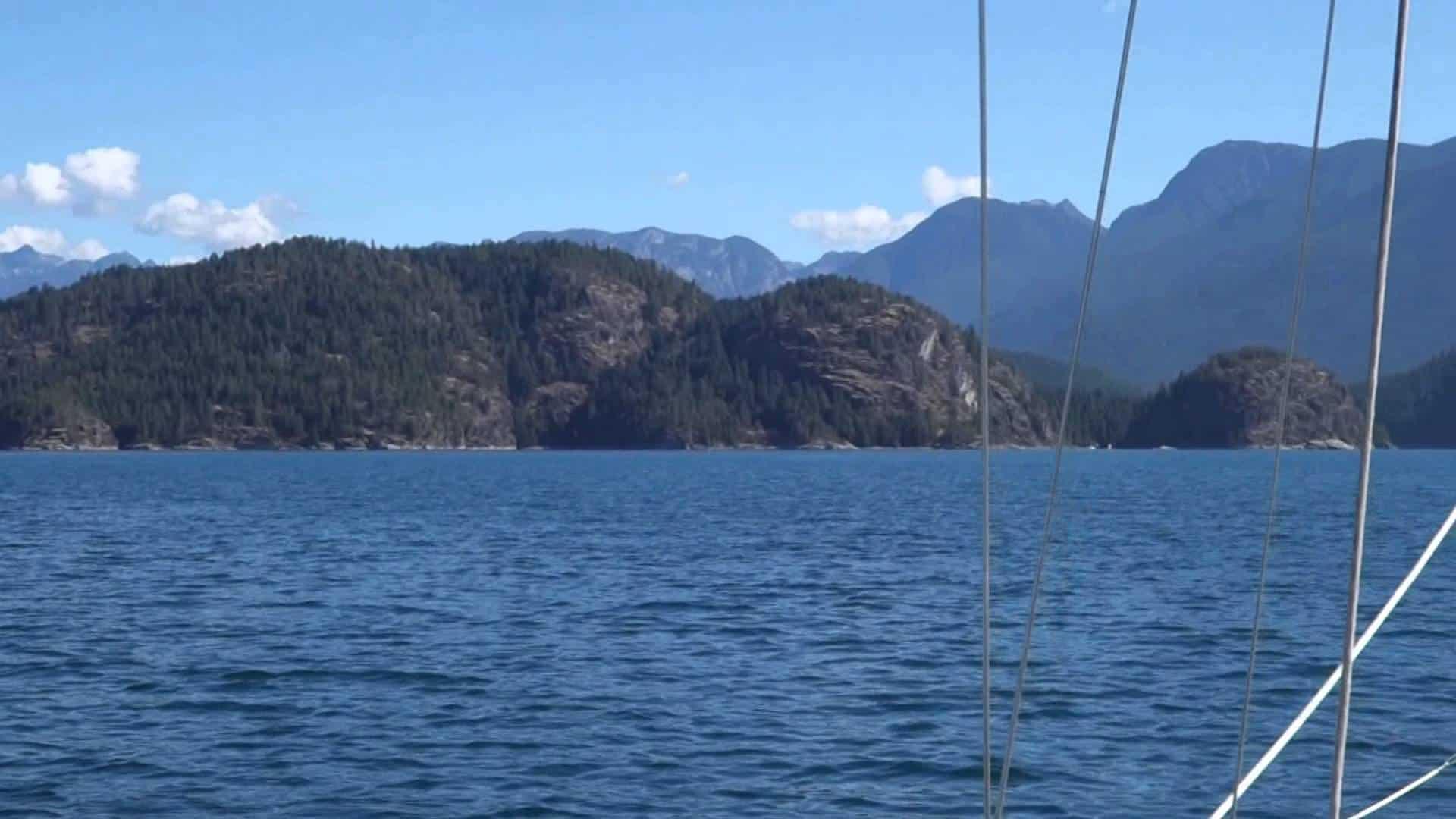 Sailing Canada British Columbia