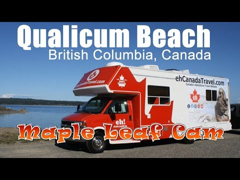 Maple Leaf Cam - Qualicum Beach, BC - ehCanadaTravel.com