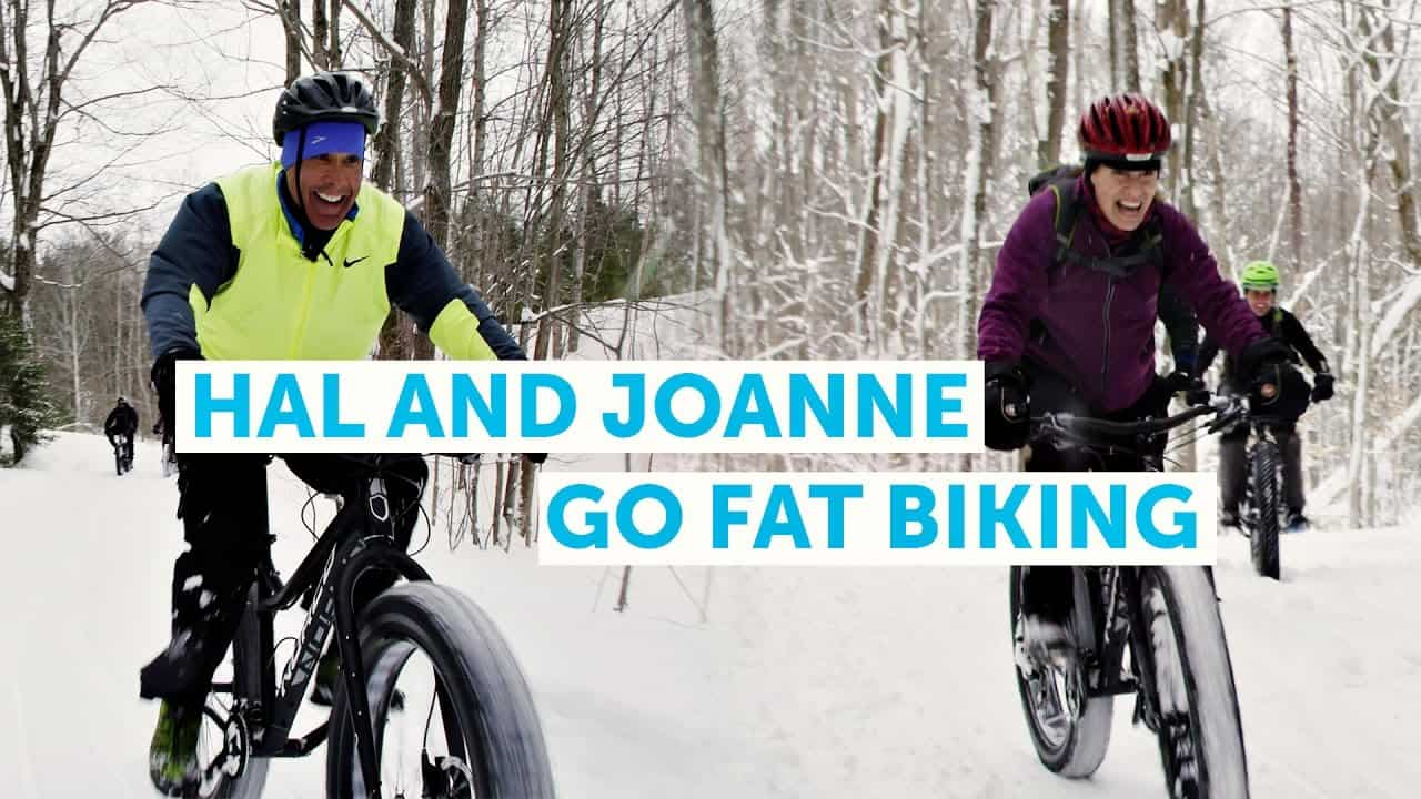 Hal & Joanne of BodyBreak Try Fat Biking for the First Time