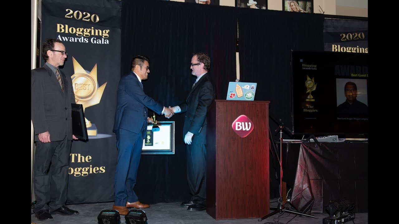 ACCEPTANCE SPEECH of Manuel Olguin - Experience Nicola Valley Awards Gala