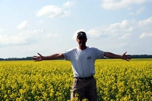 Saskatchewan Canola Fields